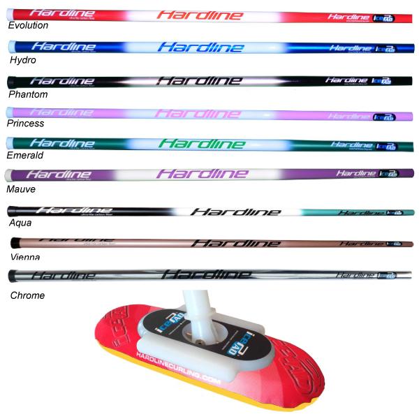Hardline Icepad Complete Atkins Curling Supplies Promo